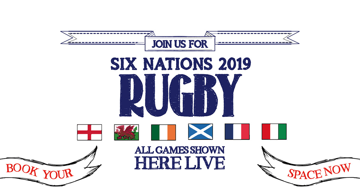 Watch the 6 Nations at The Lamb in London